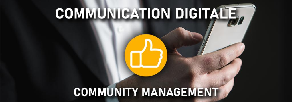 Communication digitale - community management