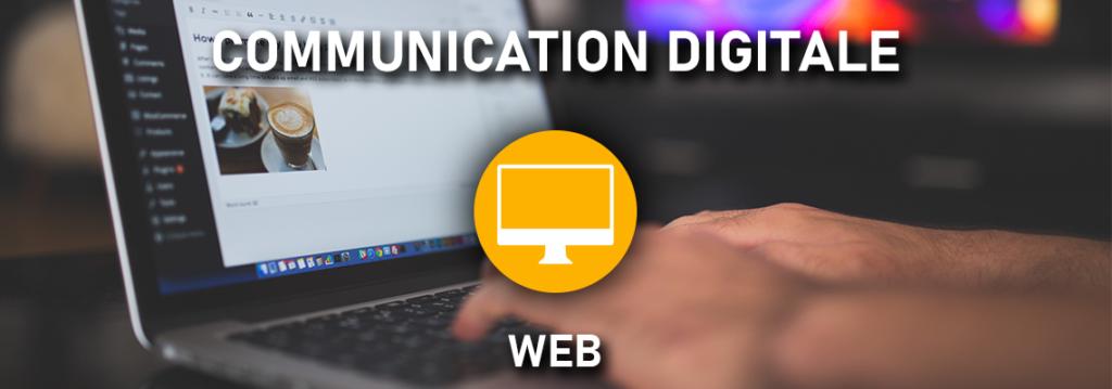 Communication digitale - web